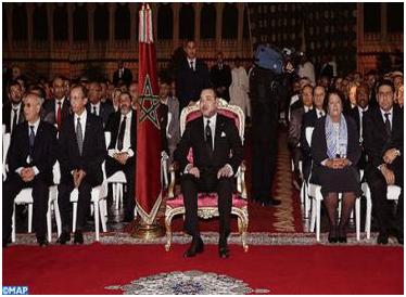 HM The King Chairs Launch Ceremony Of 2014-2016 Salé Integrated Urban Upgrading Program