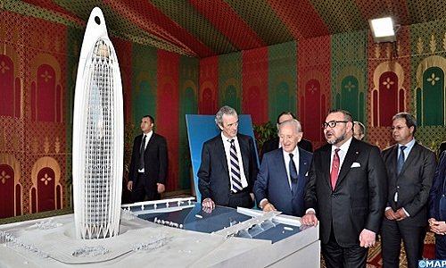 HM the King Launches Construction Works of 45-Storey Tower in Bouregreg Valley
