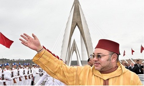 HM the King Inaugurates Rabat Motorway Bypass