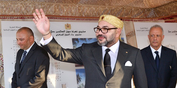 HM the King Launches 'Souk Assalihine' Development Project in Salé