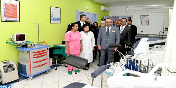 HM the King Inaugurates Primary Health Care Centre in Salé