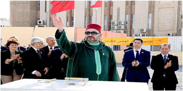 HM the King launches in Salé the construction work of an artistic and cultural animation complex
