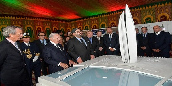 HM the King Chairs Official Launch Ceremony of Construction of 'Mohammed VI Tower'